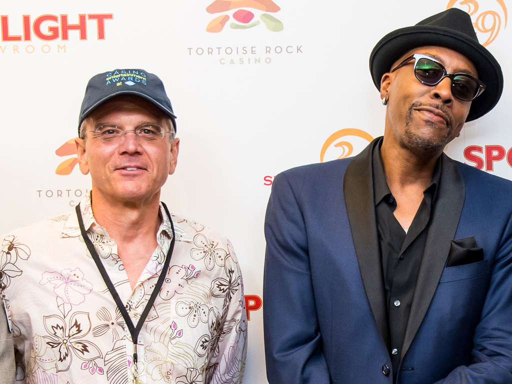 Steve Selak and Arsenio Hall
