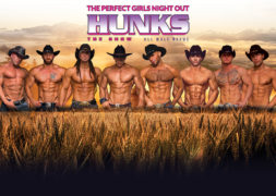 Hunks The-Show Poster (Cowboy) -24x36